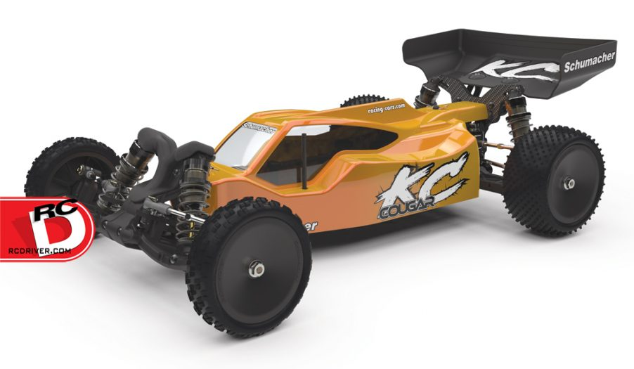 CougarKC ftq 1000 copy High Traction!  Cougar KC 1/10th Competition 2WD Buggy from Schumacher