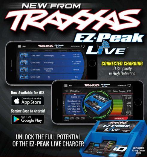 EZ Peak Live Traxxas unveils new EZ Peak Live iOS Charger App