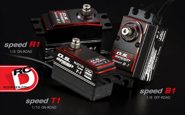 Futaba O.S. Speed Tuned High Performance Servos O.S. Speed Tuned High Performance Servos