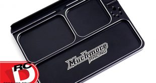 Muchmore Racing - Luxury Aluminum Black Parts Tray 3_1 copy