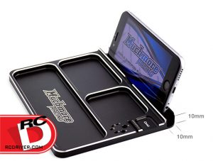 Muchmore Racing - Luxury Aluminum Black Parts Tray 3_2 copy