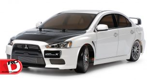 Tamiya - Mitsubishi Lancer Evolution X (TT-02D chassis) drift spec copy