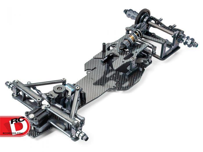 Tamiya - TRF102 Black Edition Formula Chassis Kit copy