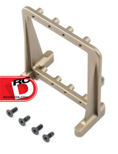 Team Losi Racing - Dual Aluminum Steering Servo Tray for the 5IVE-B copy