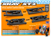 "New XRAY Graphite XT2 ""High-Traction"" A-Arms"