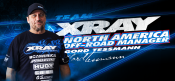 Gord Tessmann appointed as XRAY North America Team Manager