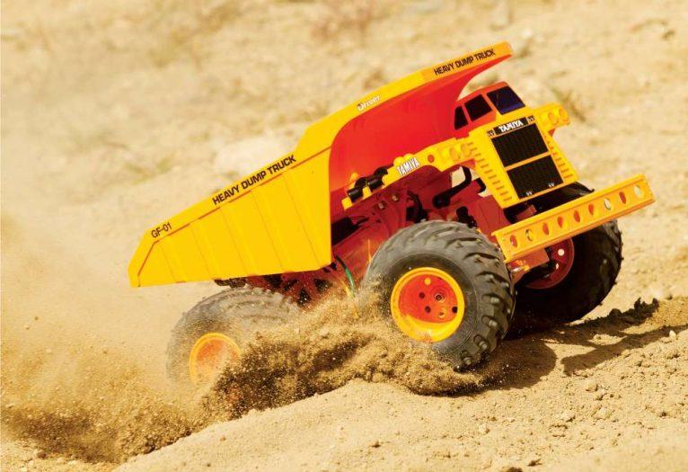 Tamiya GF-01 Heavy Dump Truck