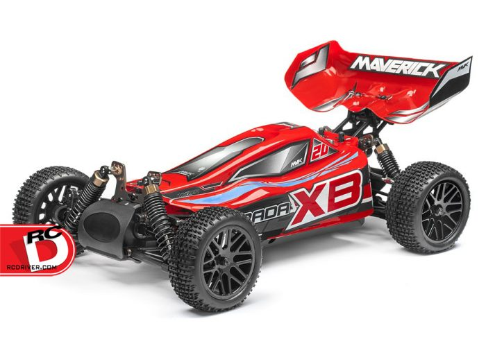 HPI Now Has Maverick Strada Red Brushless Vehicles