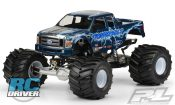 2008 Ford F-250 Clear Body for Solid Axle Monster Trucks