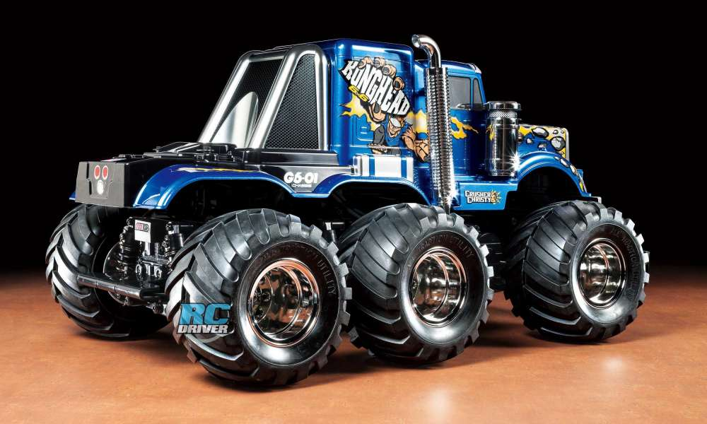 monster truck control with Very Cool The Konghead 6x6 G6 01 From Tamiya on 2006 Dodge Ram 2500 Pickup Truck moreover Very Cool The Konghead 6x6 G6 01 From Tamiya likewise 2002 Chevrolet Silverado 2500 Monster Truck Duramax Diesel as well 4 together with Mini Rc Helicopter Parts.