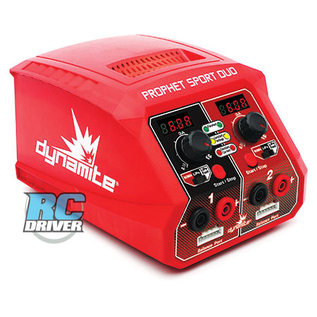 DYNC2025 450 copy Prophet Sport Duo 50W x 2 AC Battery Charger from Dynamite