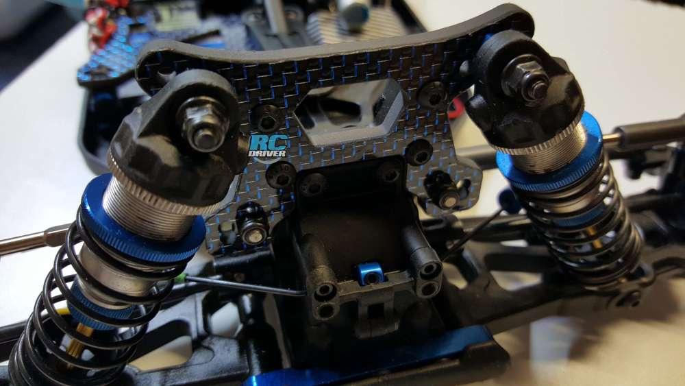 Aluminum Steering Bellcrank Conversion Kit Blue For Team Associated B64 B64D