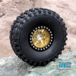 Pick your Tombstone – New 1.9 Silver and Gold Beadlock Wheels From Gear Head RC