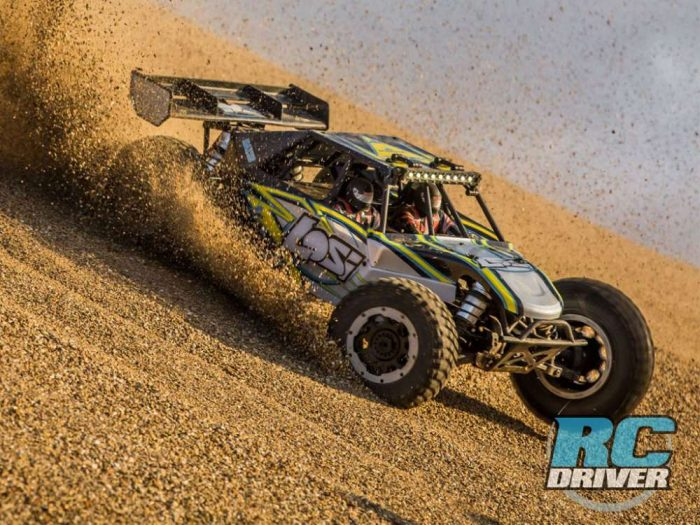 They went and did it! - Losi Desert Buggy XL-E: 1/5th 4wd Electric RTR