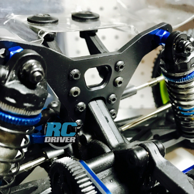 Tough Stuff – The RCM B6 Aluminum Rear Shock Tower