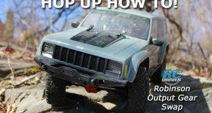Robinson Racing Axial SCX10 Gear Install