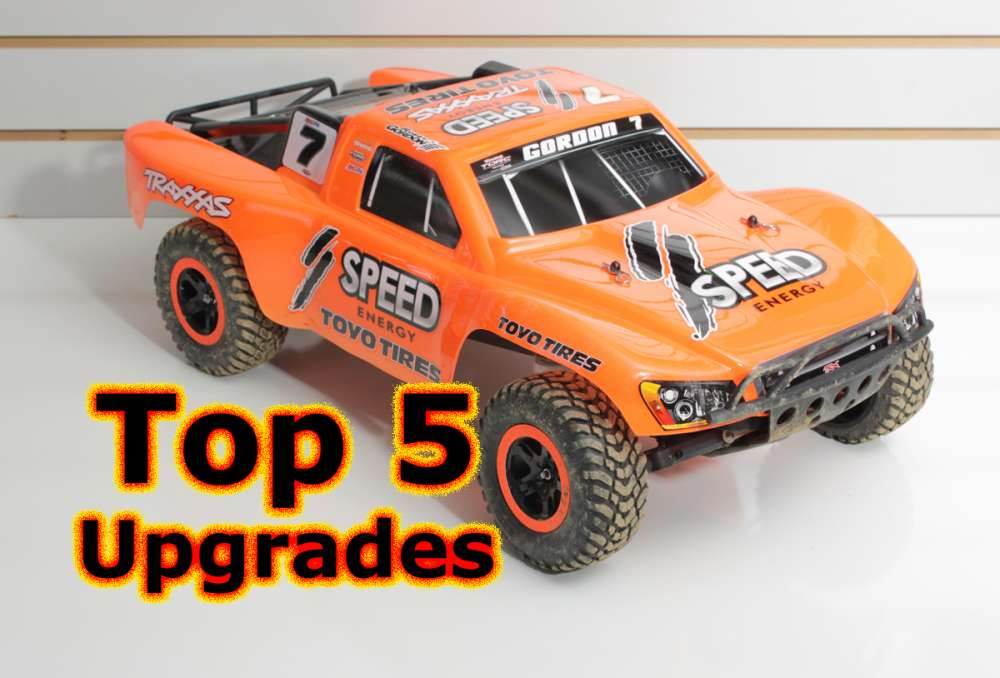 Top 5 Traxxas Slash First Upgrades - What they are and why
