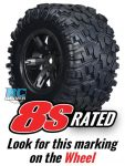 8s-Rated X-Maxx Tires from Traxxas