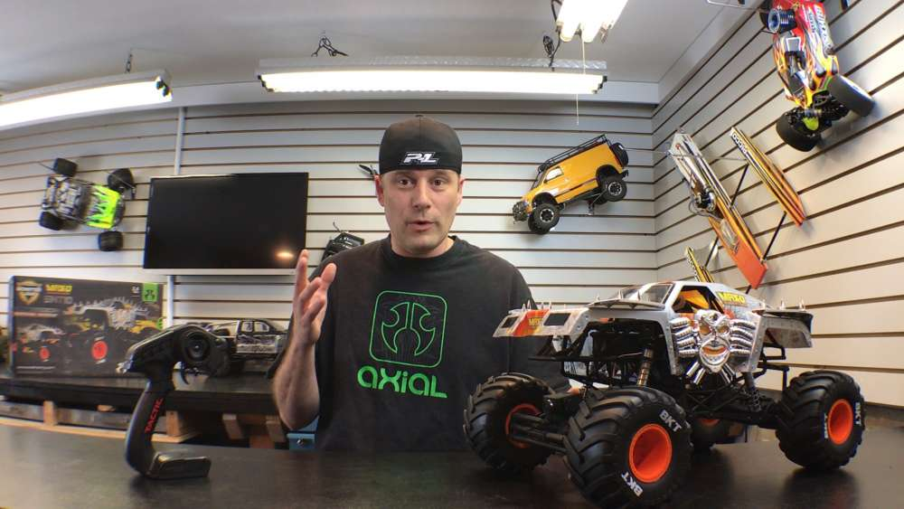 Now S Your Chance Price Drop Axial Racing Smt10 Max D And Grave Digger Monster Jam Rc Driver