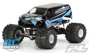 Guardian Clear Body for Solid Axle Monster Truck from Pro-Line