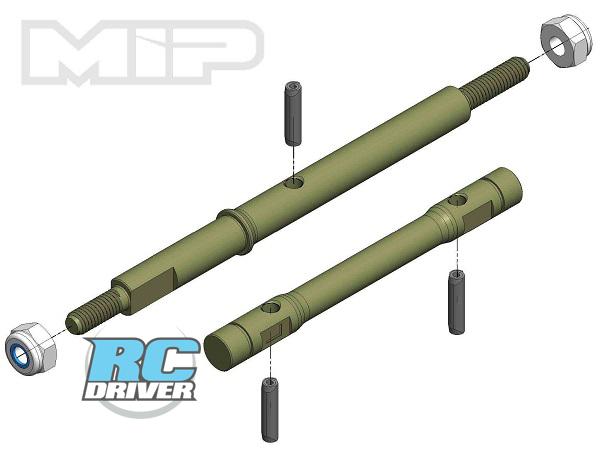 MIP 13.5 Aluminum Race Shaft Set for the 22-4 2.0