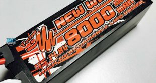 New Wave 4S 100C 8000mAh LiPo Battery Pack
