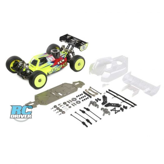 TLR248000 a1 Even Better Performance with the TLR Tuning Kit for the 8IGHT 4.0