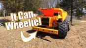 Dump Truck Wheelie Action – Tamiya GF-01 Heavy Dump Truck