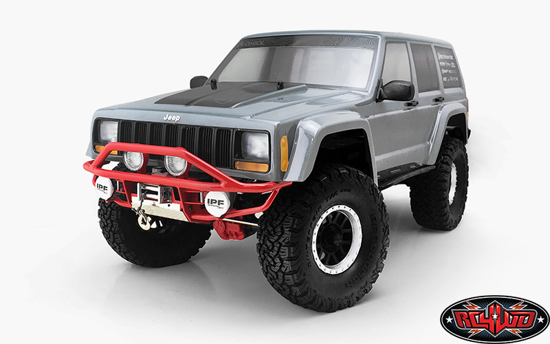 3 Upgrade Ideas Thursday - RC4WD Krabs parts for the Axial SCX10 II Jeep XJ