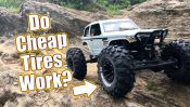 Cheap Crawler Tires With Grip – Duratrax Showdown CR Tires
