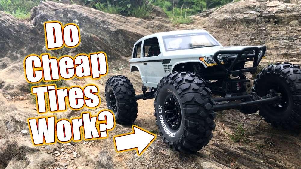 Cheap Crawler Tires With Grip Duratrax Showdown Cr Tires