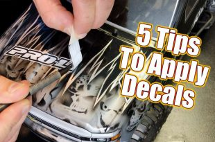 5 Techniques To Apply Decals