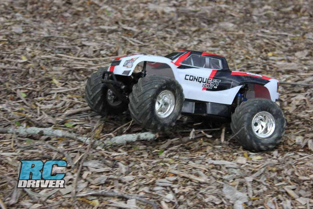 Your First Basher Monster Truck? - Helion Conquest 10MT XB