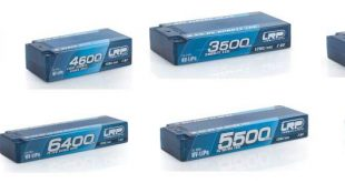 LRP P5-HV GRAPHENE Hardcase Akku 120C60C 7.6v Lithium Batteries (1)