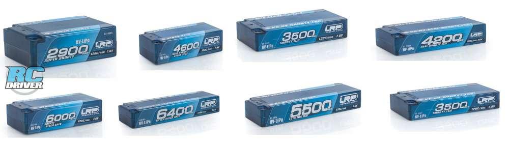 LRP P5-HV GRAPHENE Hardcase Akku 120C/60C 7.6v Lithium Batteries