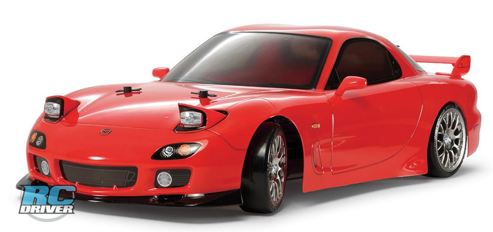 Mazda RX 7 FD 3 S TT 02 D Chassis Drift Spec Tamiya Mazda RX 7 (FD3S) – TT02D Drift Spec