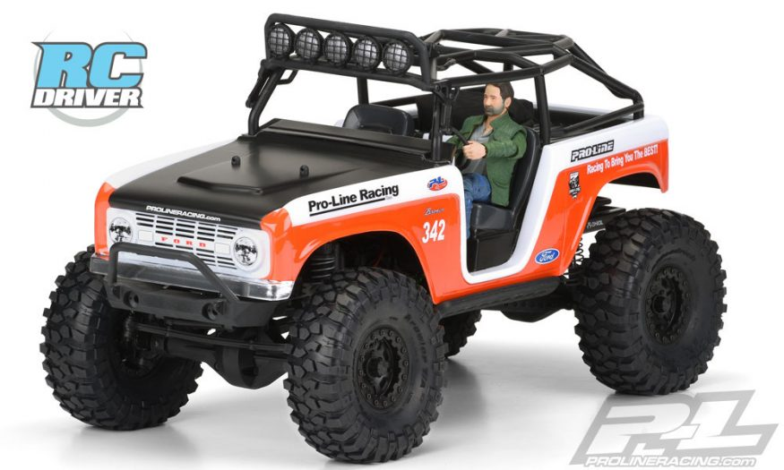 Get A New Old Look Pro Line Racing 1966 Ford Bronco Body
