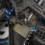 Team Associated B64 FT Graphite Adjustable Bellcrank Arm