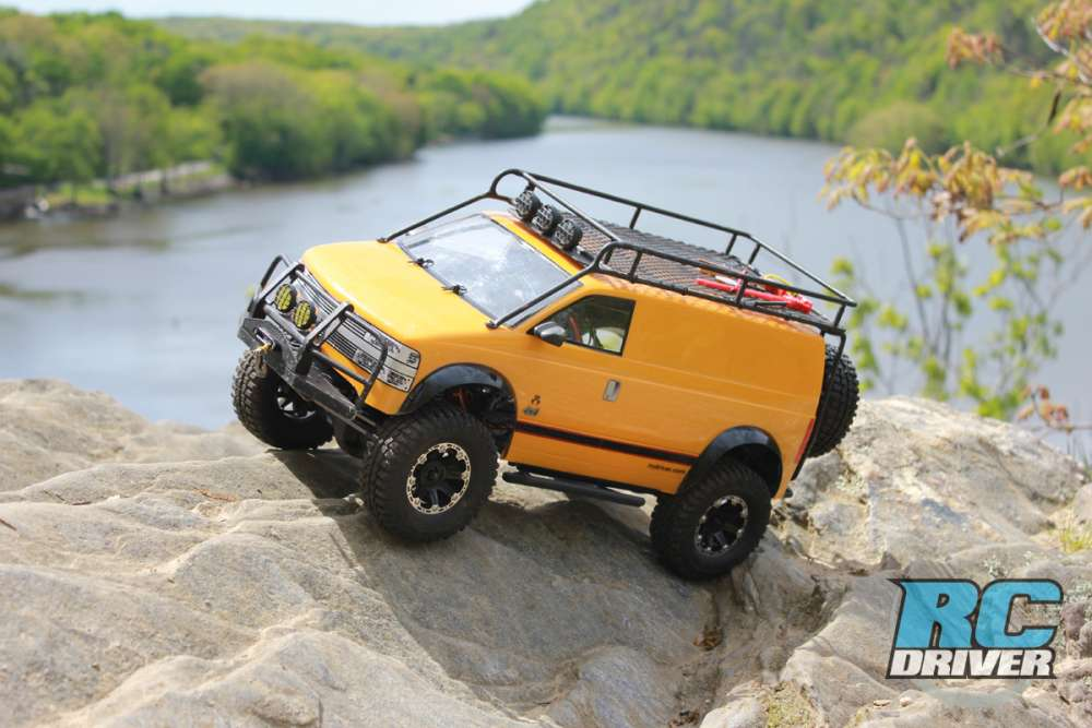 Van The Story of the Axial Adventure Van – This is a rockin ride