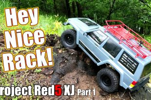 Project Axial Racing SCX10II Red5 XJ