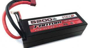 Fantom 4S, 5200mAh Low Profile LiPo Battery Pack