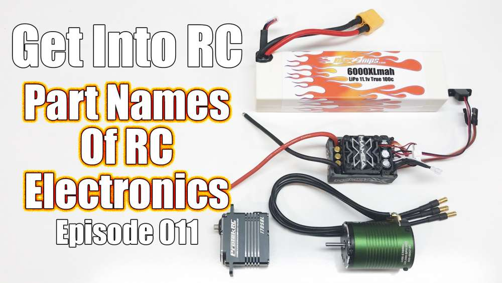RC Electronic Basics - Terms and Names - Get Into RC