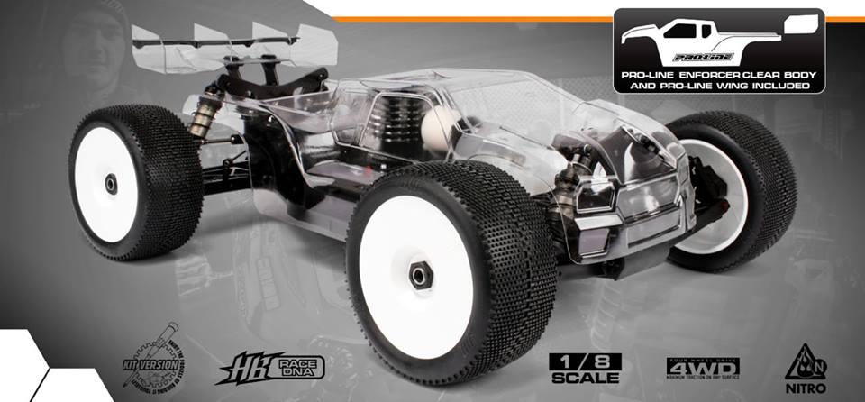 World Championship Pedigree - HB Racing D817T 1/8 Nitro Truggy