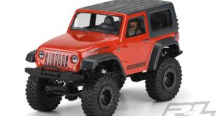Jeep Wrangler Rubicon Clear Body with Interior