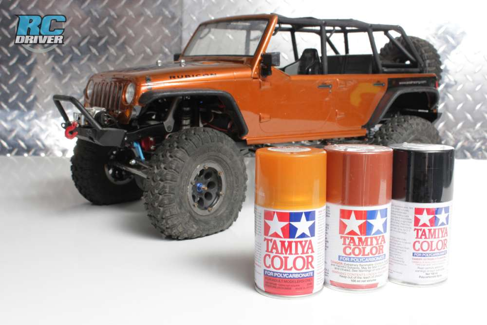 Tamiya Polycarbonate Spray Paint