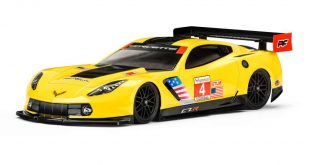 Chevrolet Corvette C7.R Clear Body