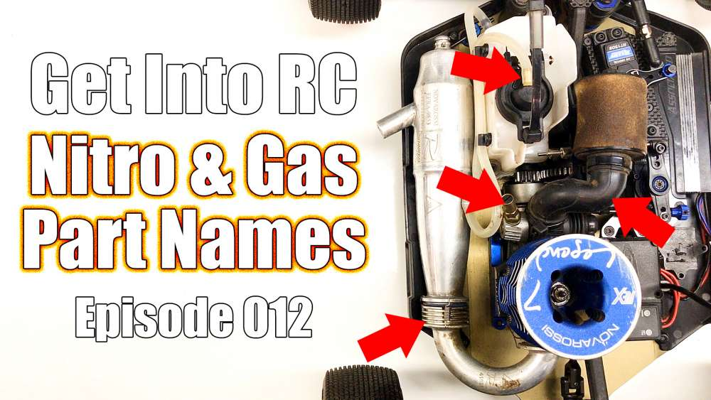 Know The Names Of Nitro & Gas Parts - Get Into RC