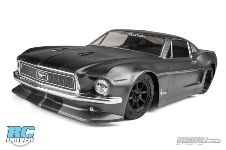 1248 American Muscle – Protoform 1968 Ford Mustang Clear Body