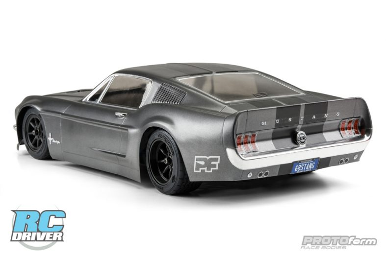 American Muscle Protoform 1968 Ford Mustang Clear Body
