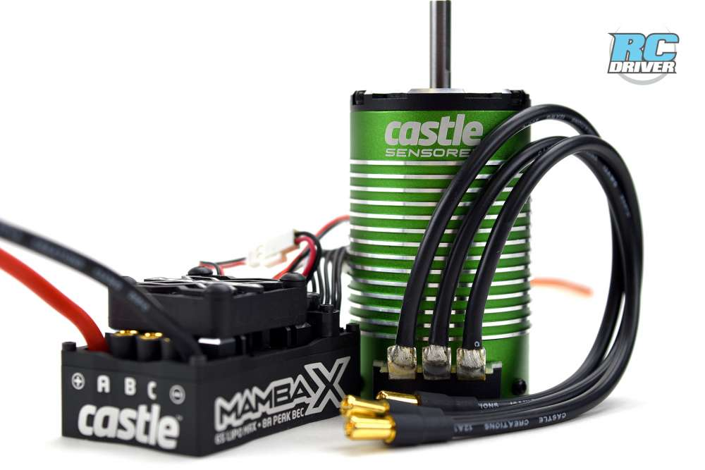New Power For The Track - CASTLE CREATIONS MAMBA X 1:8 SCALE E-BUGGY EDITIONS